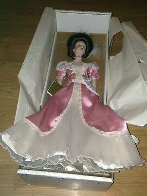 """Franklin Heirloom Dolls, 22"""" inches tall."""