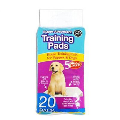 100 x SUPER ABSORBENT TRAINING HOUSE PADS PUPPIES DOG PUPPY TOILET WEE 60 x 45CM