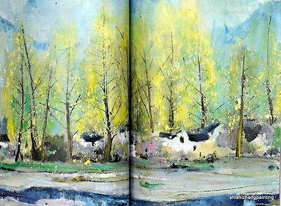 catalog Chinese oil painting Modern Contemporary art ChengXuan auction book