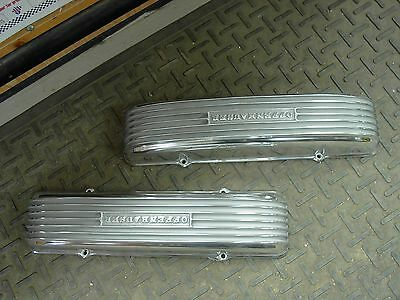 NOS Offy Offenhauser Cadillac 1949-60 331 365 390  Hot Rod Finned valve covers