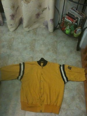 1930s 40s California Golden Bears Varsity Jacket Game Use Russell Southern Co Me