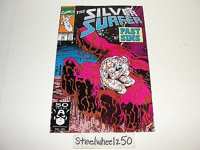 Silver Surfer #48 Comic Marvel 1991 Jim Starlin Ron Lim Thanos Infinity Gauntlet