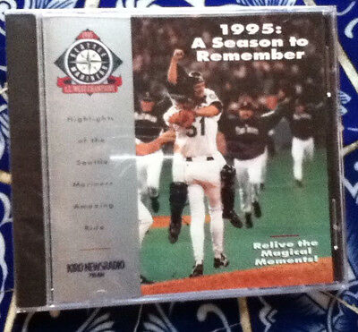 1995 Seattle Mariners Season to Remember CD-Shrinkwrapped-Dave Niehaus, Rizzs