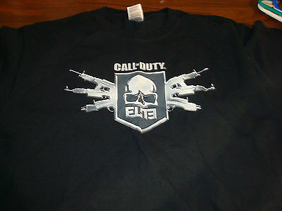 Cool Rare Call of Duty Elite T-Shirt, Size XL, Never Worn!