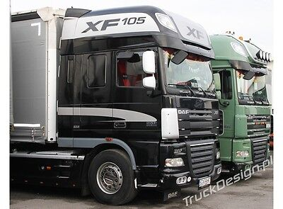 DAF XF SUPER SPACECAB extra STICKERS FOR DAF TRUCKS- SET OF STICKERS DAF