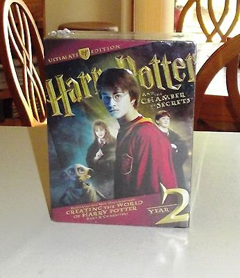 Harry Potter Ultimate DVD Edition Year 2, 4 Discs, 48 Page Book, Plus