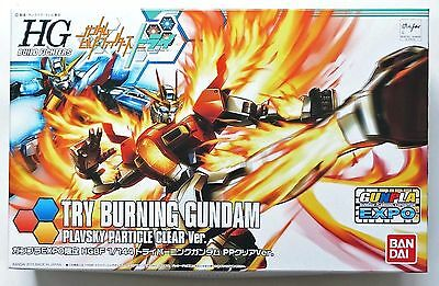 BANDAI HGBF 1/144 Try Burning Gundam Plavsky Particle Clear *Limited Model Kit