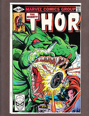 THE MIGHTY THOR 298 RARE BRONZE-AGE BEAUTY 1980 NM- 9.2  ~WOW~