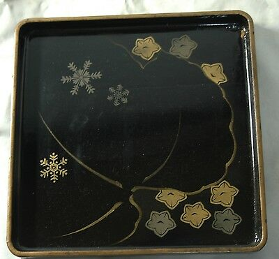 Vintage WWII Japanese Tray for Sake Bottles or Cups army navy M0310
