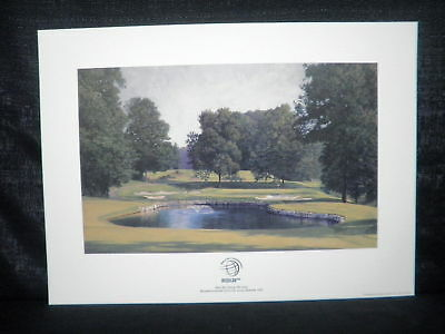 American Express Championship Bellerive CC Golf Lithograph