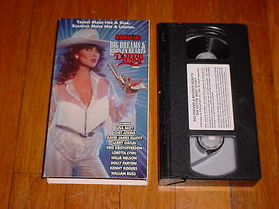 BIG DREAMS & BROKEN HEARTS The Dottie West Story (RARE VHS OOP) Michelle Lee