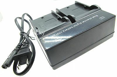 Dual Battery Charger for SONY Cyber-shot DSC-HX5V/B DSC-HX7V/B DSC-HX9V/B Cam