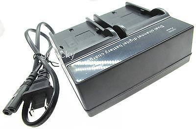 Dual Battery Charger for Sony Cyber-shot DSC-HX5V DSC-HX7V DSC-HX9V Digital Cam