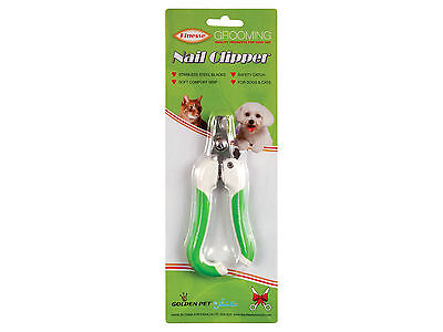 Dog Claw Clippers Golden Pet Grooming Nail Scissors for Medium Dogs Large Cats
