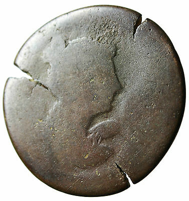 """LARGE 34mm AE Drachm Coin of Vespasian """"Winged Nike"""" Egypt Alexandria Authentic"""