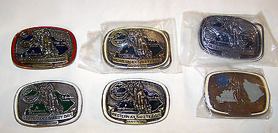 Coal Mining Belt Buckles NEW Western KY Mine Safety Days 1990 to 1995 Vintage