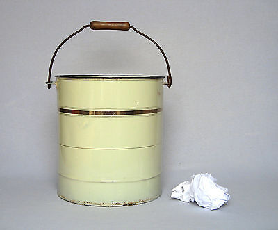 Enamelware LARGE VINTAGE FRENCH PAIL - very good overall condition