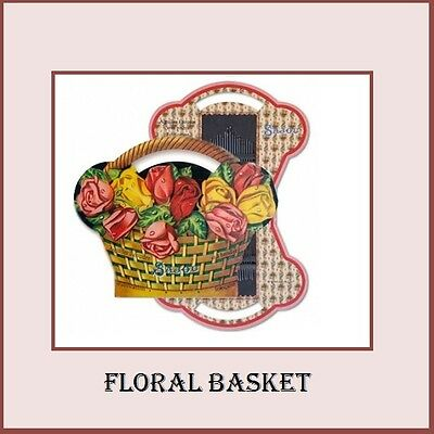 "Sajou Vintage Replica Needle Card  ""Floral Basket"""