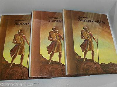 10 Illustrated Stories From the Bible- Great for Kids- Lots Pictures Mormon LDS