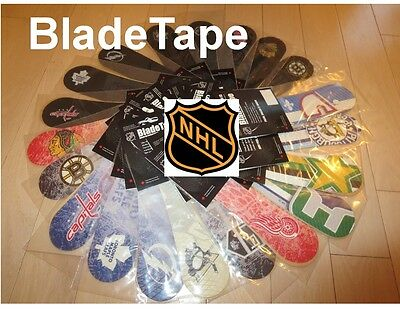 BladeTape, Blade Tape,NHL Hockey Team Logos, Hockey Stick Tape, Replacement Tape
