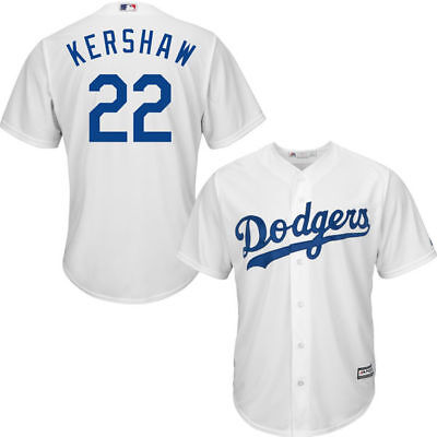 Los Angeles Dodgers Clayton Kershaw #22 New Cool Base Men's Home Baseball Jersey