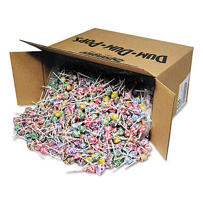 Spangler Dum-Dum-Pops, Assorted Flavors, Individually Wrapped, Bulk 30lb Carton