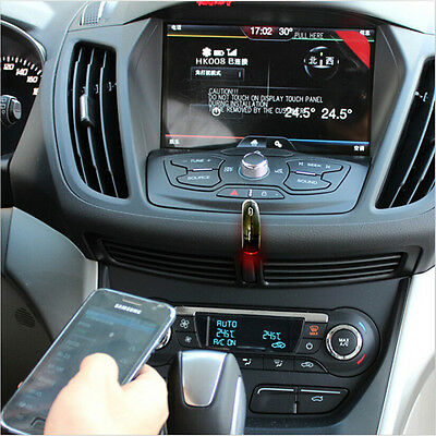 Wireless Bluetooth Receiver Car 3.5mm Adapter Hand Free Kit Connect AUX Music Ef