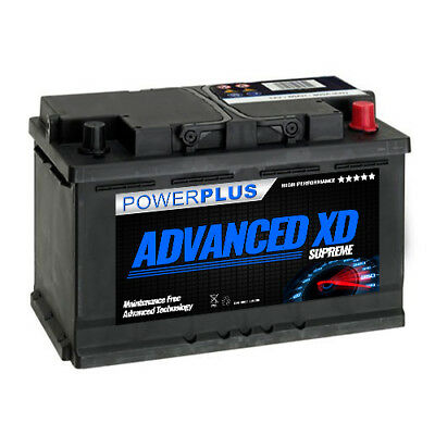100XD+ Type Car Starter battery 12v 74ah 750cca Super Heavy Duty for Diesel 5yr