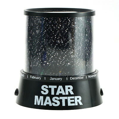 Romatic LED Night Light Lamp Cosmos Star Master Projector Sky Starry Kids Gift M