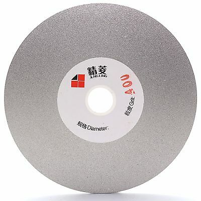 "4"" inch 100 mm Grit 80- 3000 Diamond Coated Flat Lap Disks Grinding Polish Wheel"