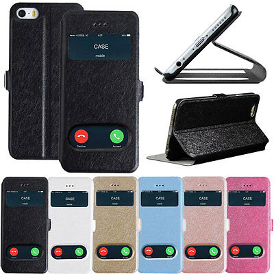 """New Ultra Slim Flip Wallet Leather Stand Case Cover For iPhone 6 4.7"""" Plus 5.5"""""""