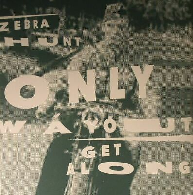 "ZEBRA HUNT - Only Way Out - Vinyl (7"")"