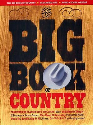 The big book of country - 65 Classic Hits - Songbook Klavier / Gesang / Gitarre