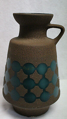 Very Nice Vintage Ceramic Art Pottery Vase Numbered  811 30  Made in Germany
