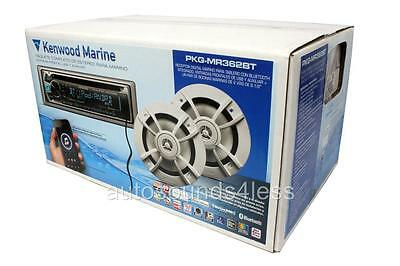 Kenwood PKG-MR362BT Marine CD/MP3/WMA Player+KFC-1633MRW 2-Way Coaxial