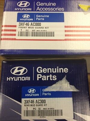 2013 Hyundai Elantra COUPE Splash/Mud Guards - FACTORY OEM ITEM - Set of 4