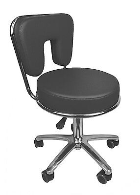 Black or White Pedicure Stool Spa Worker Technician Chair Hair Salon Furniture