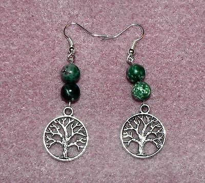 Silver Tree Of Life Earrings, Pagan, Wicca, Celtic, Witchcraft