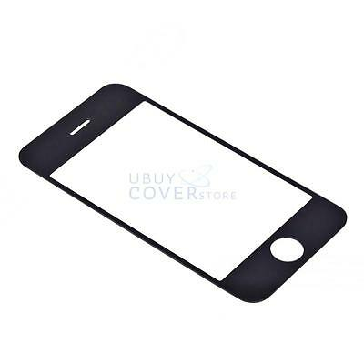 Black Outer LCD Screen Glass Lens Replacement for Apple iPhone 3G 3GS New