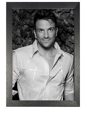 Peter Andre 3 Australian Singer Poster Black and White Handsome Man Picture