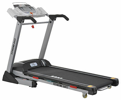 F4H 8057 Motorised Folding Treadmill Touch Screen Olympic 'BOLT' Running Machine