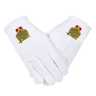 33rd DEGREE GLOVES - WINGS D - EMBROIDERED LOGO - 4 SIZES * SM..MD..LG..XL.XXL