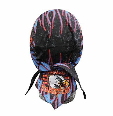Iron Tradition Eagle Headwrap Bandanna Sweatband Durag Capsmith Free Shipping