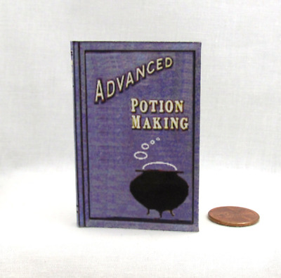 ADVANCED POTION MAKING Illustrated Book in 1:3 Scale Spell Book HARRY POTTER