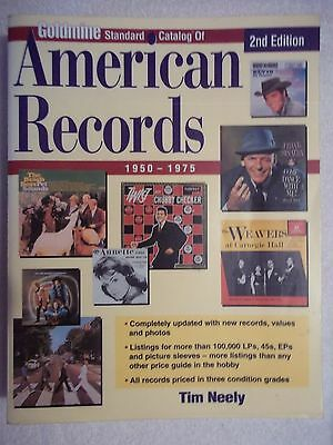 Goldmine Standard Catalog of American Records by Tim Neely-2000-2nd Edition