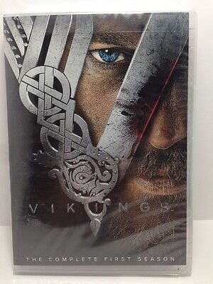Vikings: The Complete First Season 1 (DVD, 2013, 3-Disc Set)