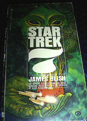 STAR TREK 7 ~ ADAPTED BY JAMES BLISH ~ JULY 1972 PB BOOK