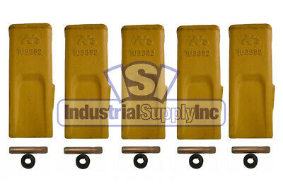 5-pk 1U3352 Caterpillar Style Bucket Digging Teeth