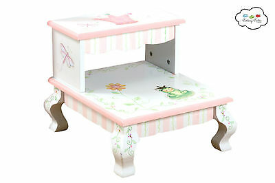 Fantasy Fields by Teamson Princess & Frog Step Stool