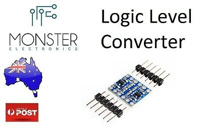 4 Channel IIC I2c Logic Level Converter Bi-Directional Module 5V to 3.3V Arduino
